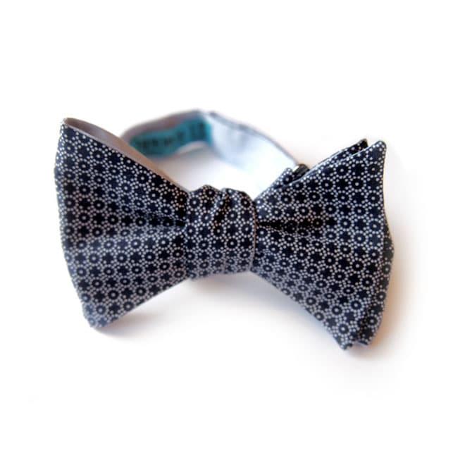 noeud papillon detroit bleu