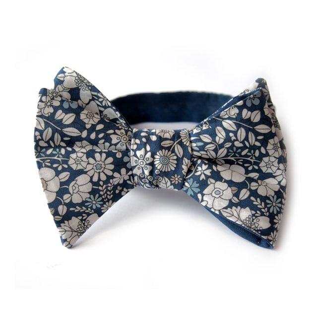 noeud papillon liberty karlino bleu