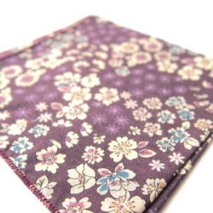 pochette fleuri buenosair violet