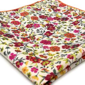 pochette fleuri cannock multicolor