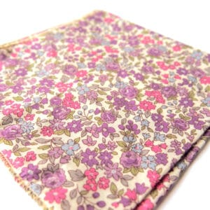 pochette fleuri seattle rose
