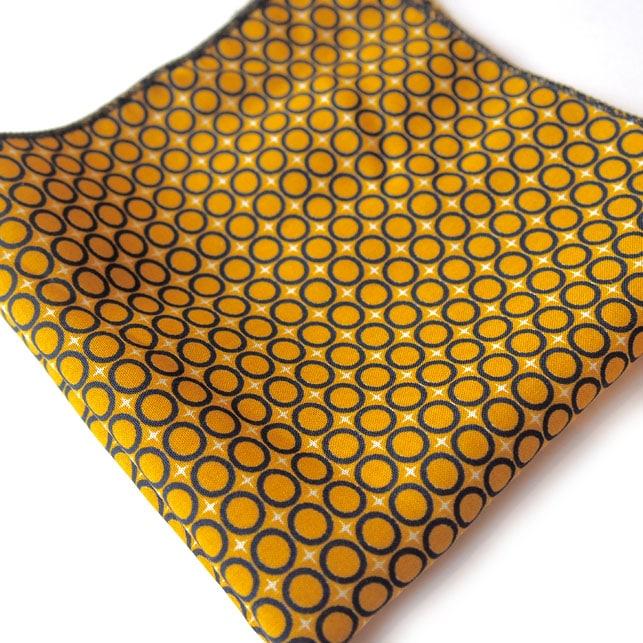 pochette imprime bilbao jaune