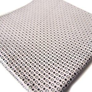 pochette imprime boston gris