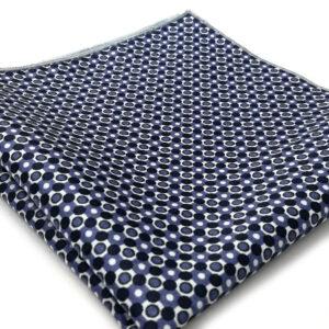 pochette imprime malmo bleu