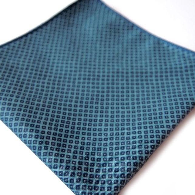 pochette imprime milton bleu