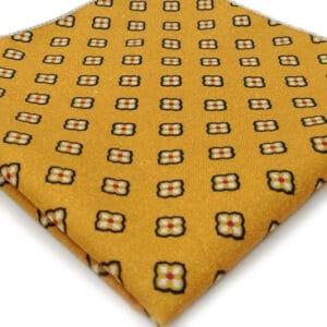 pochette imprime taro jaune