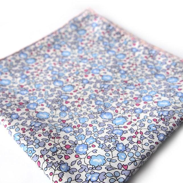 pochette liberty agadir bleu