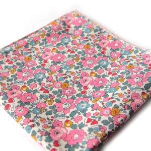 pochette liberty goa rose bleu