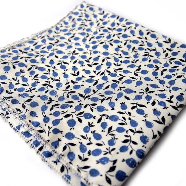 pochette liberty hanoi bleu