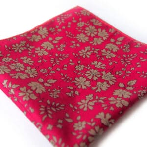 pochette liberty kazan rouge