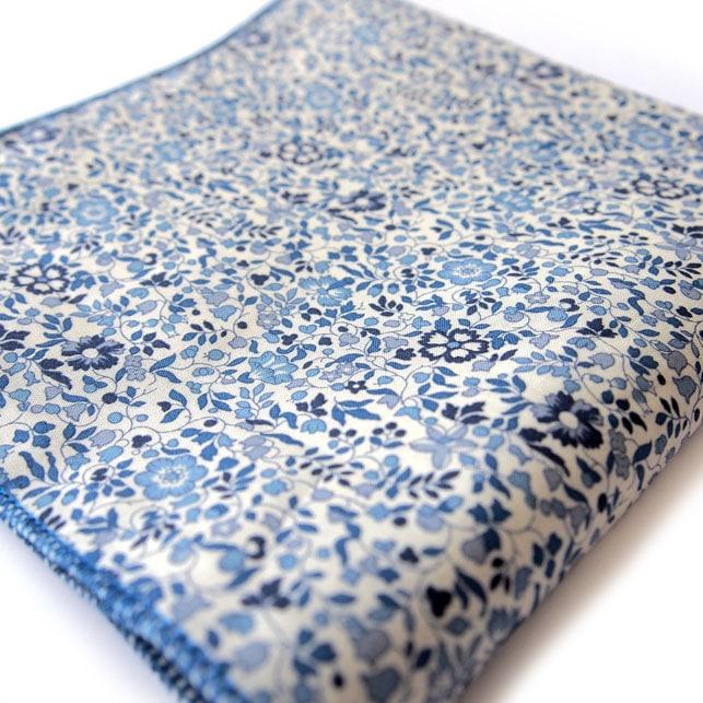 pochette liberty mykonos bleu