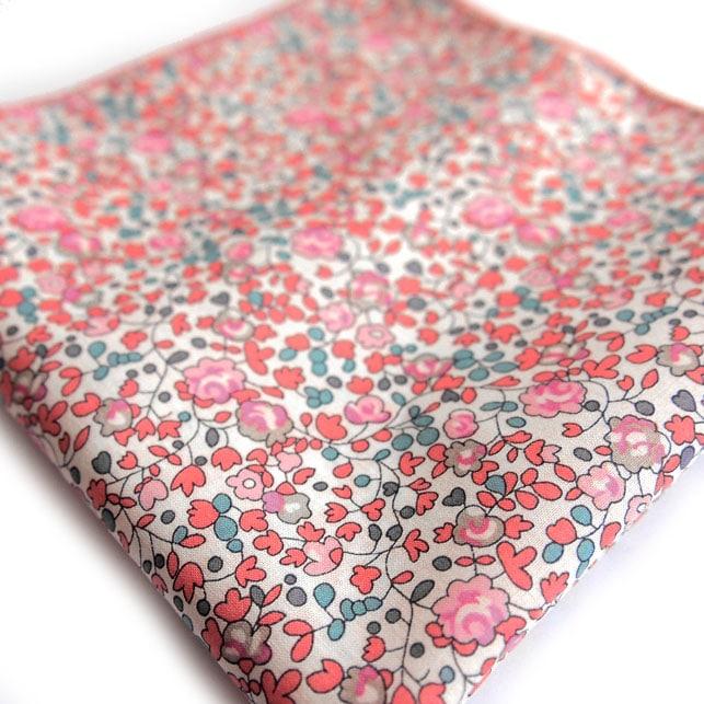 pochette liberty sakura rose