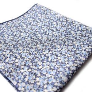 pochette liberty shangai bleu