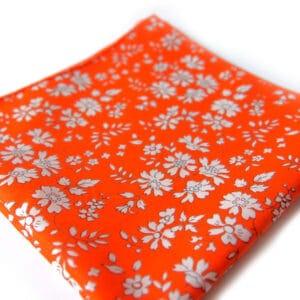 pochette liberty tika orange